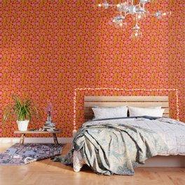 Apricot Calliope Rose Wallpaper