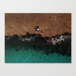 Sometimes it feels good to take the wrong way... Canvas Print