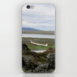 Abandoned :: A Lone Canoe iPhone Skin