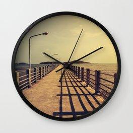 Rawai Pier Wall Clock