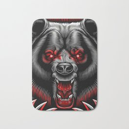 Albanian Bear Bath Mat