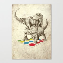 The Ultimate Battle Canvas Print