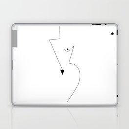 Geometric Girl Laptop & iPad Skin