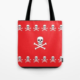 Classic skull duvet Tote Bag