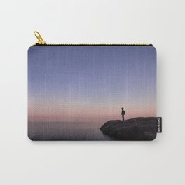 alone on lake superior Carry-All Pouch