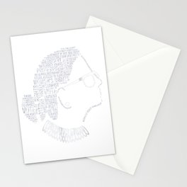 Notorious RBG Shirt Ruth Bader Ginsburg Quotes Feminist Gift Stationery Cards