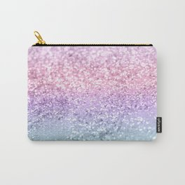 Unicorn Girls Glitter #1 #shiny #pastel #decor #art #society6 Carry-All Pouch