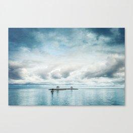 silent ocean Canvas Print