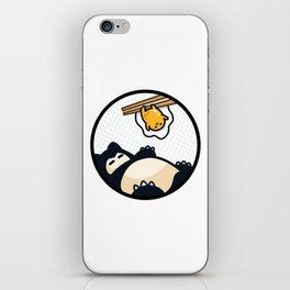 Snorlax Gudetama Lazy Duo (San-x) iPhone Skin