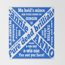 Scottish slang and phrases Throw Blanket