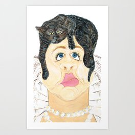 Highly Accurate Self Portrait at 23 Art Print