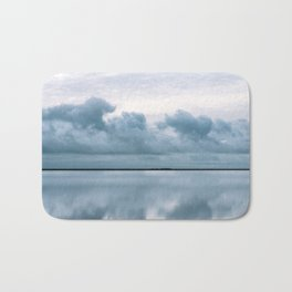 Epic Sky reflection in Iceland - Landscape Photography Bath Mat