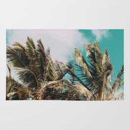 Palm Trees and Island Breeze Rug
