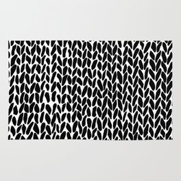 Hand Knit Zoom Rug
