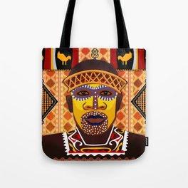 African Tribesman 2 Tote Bag