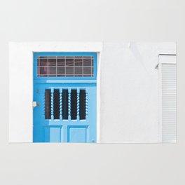 Belgian Blue Door Rug