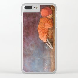 Fishing with dad. Clear iPhone Case