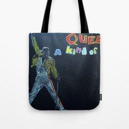 Freddie & Mercury A kind of Magic Tribute Tote Bag