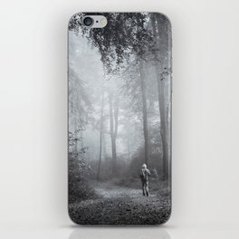 seeking silence iPhone Skin