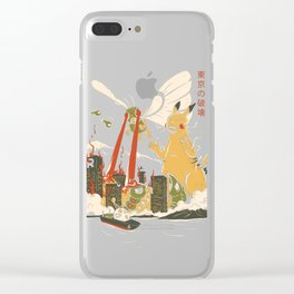 Out of control Clear iPhone Case
