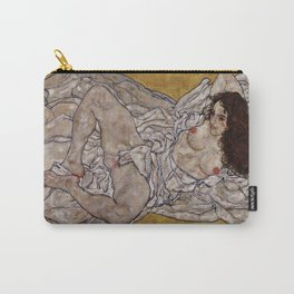 "Egon Schiele ""Reclining Woman"" Carry-All Pouch"