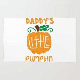 dadys little pumpkin shirt Rug