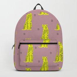 Cheetah Groove Backpack