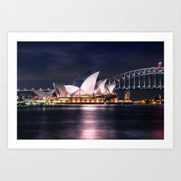 Opera House Sydney Art Print
