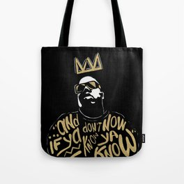 Brooklyn's King Tote Bag