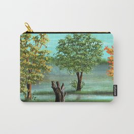 Trees and smok Carry-All Pouch
