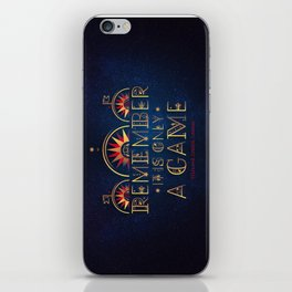 Only A Game iPhone Skin