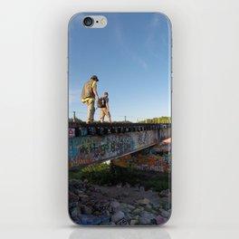Graffiti Bridge iPhone Skin