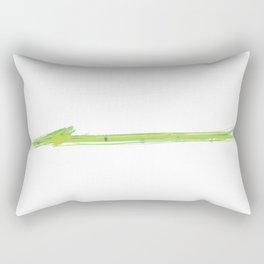 Dixie Cup Green Rectangular Pillow
