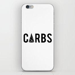 Carbs iPhone Skin