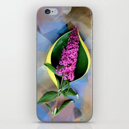 Anthurium Fantasy iPhone Skin