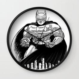 Bat Rumble Wall Clock