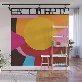 Sun support Wall Mural
