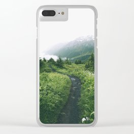Happy Trails XIX Clear iPhone Case