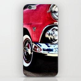 Classic Pink Cadillac iPhone Skin
