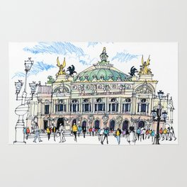 Palais Garnier, Paris Rug