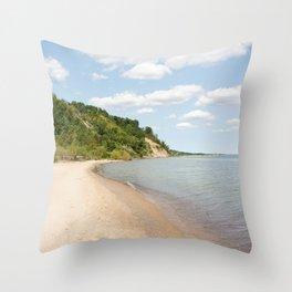 AFE Bluffer's Beach Throw Pillow
