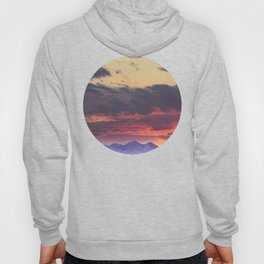 Crazy Mountain Sunset Hoody