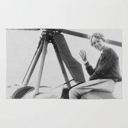 Amelia Earhart Rug